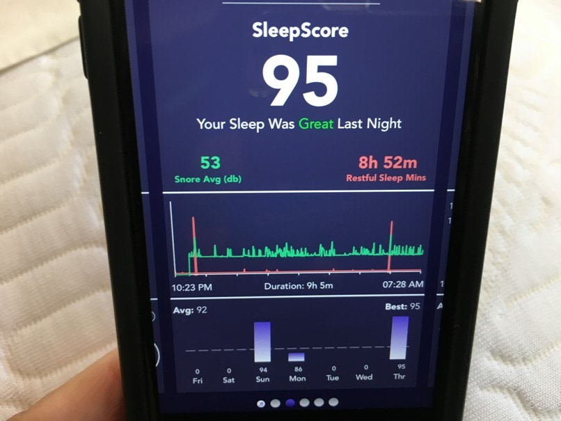 A pillow with at-home sleep analysis! Brilliant! Attach your mobile phone to the sensors in this soft and firm ZEEQ pillow and you'll discover how well you sleep at night. Sensors for snoring, too. It's a smart pillow that also plays music inside to not disturb your partner. #sleepbetter