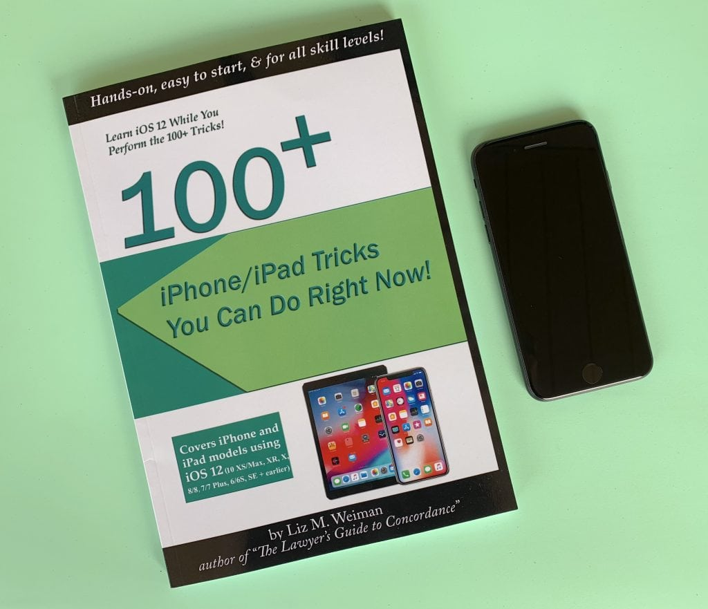 100 iPhone tricks book holiday gift guide