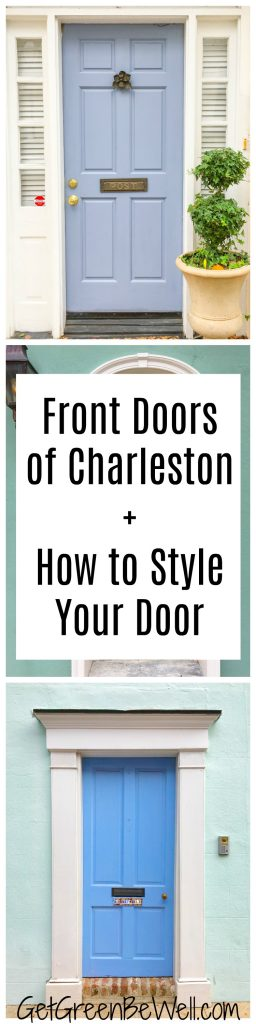 The front doors of Charleston, South Carolina exude classic style and Southern charm. Which of these is your favorite? Plus, easy tips to style your front door to look goregous and inviting.