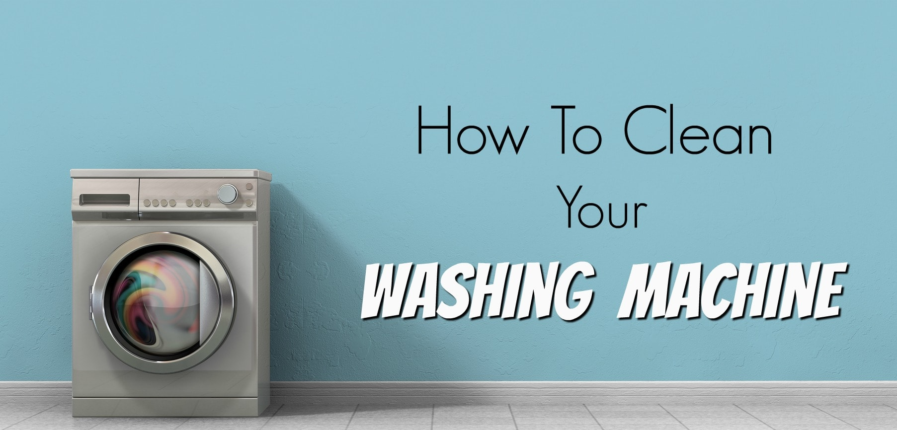 How To Clean Your Washing Machine Get Green Be Well