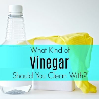 What Kind of Vinegar to Clean With