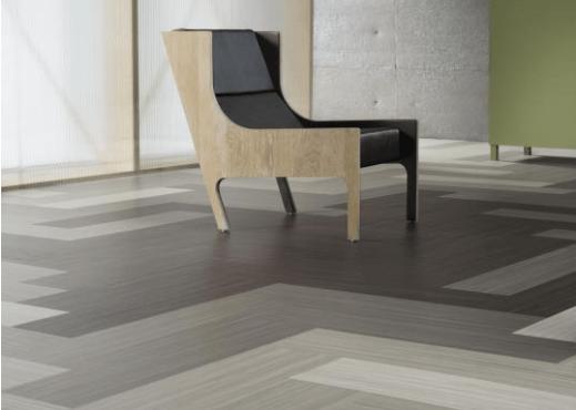 grey square of linoleum allergy friendly flooring