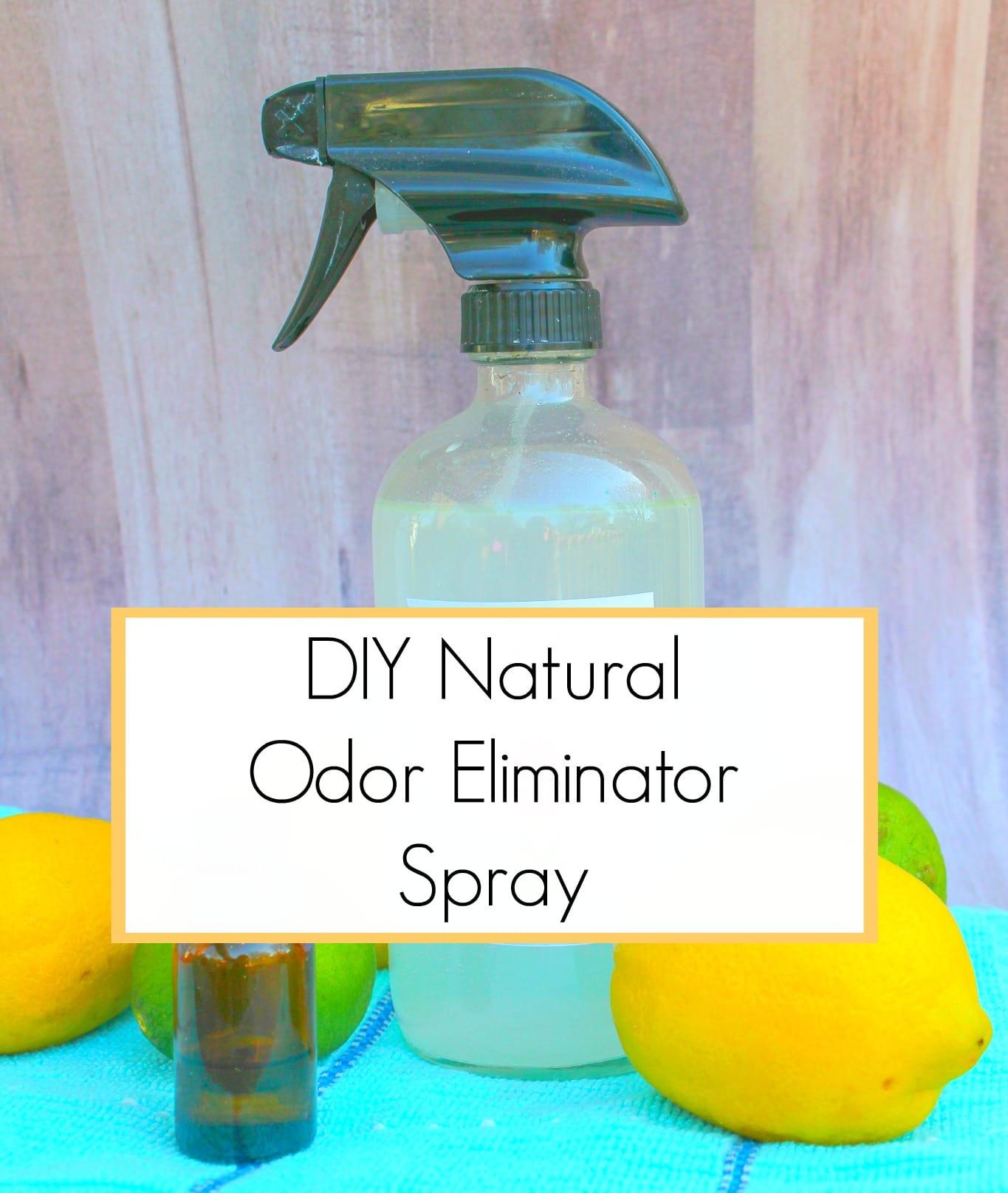 DIY Natural Odor Eliminator Spray - Get Green Be Well
