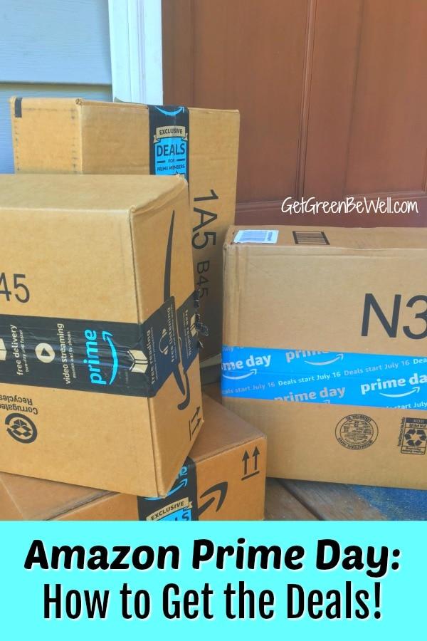 Amazon Prime Boxes on a Front Porch