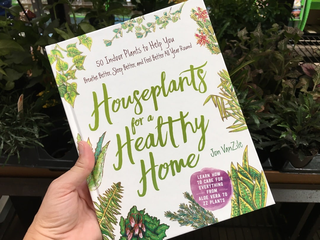 Houseplants For A Healthy Home Book