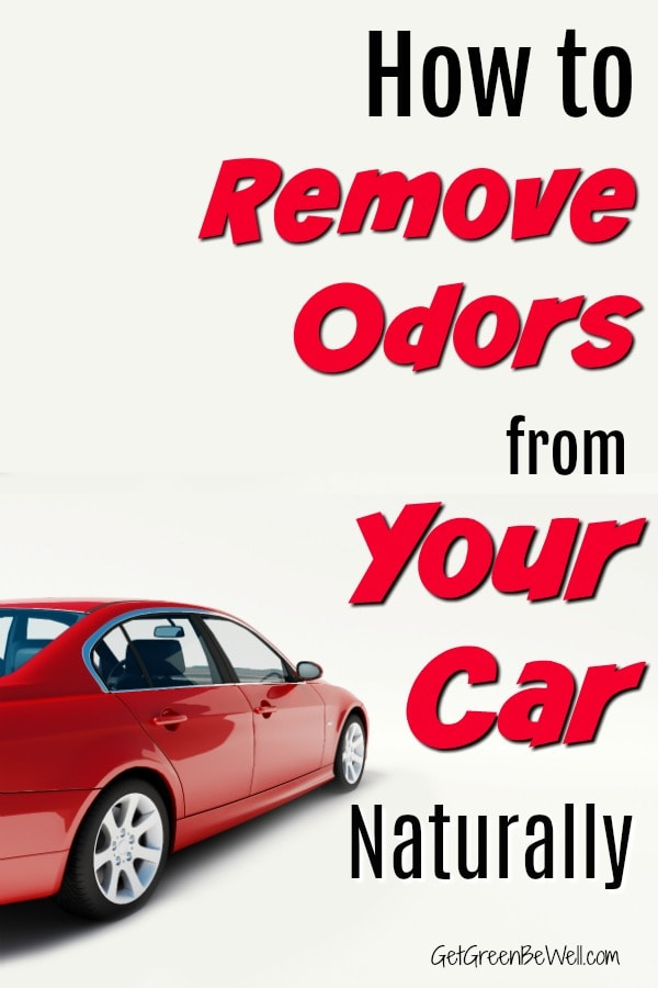 Remove odor from Car naturally