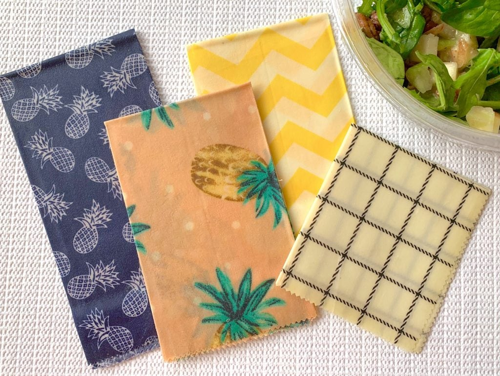all natural plastic free beeswax wraps