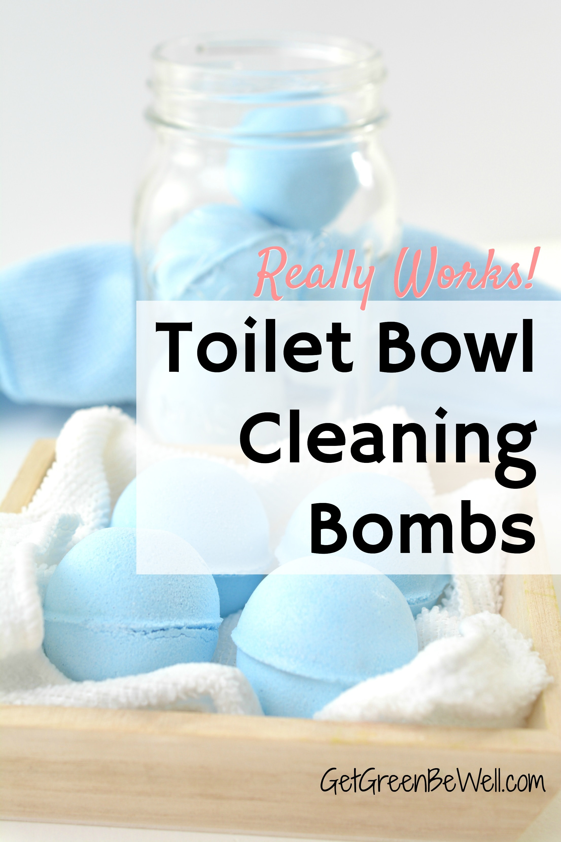 homemade fizzy toilet bowl cleaner tablets - get green be well