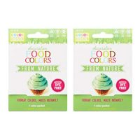 ColorKitchen Food Color Packets 0.1 oz - 2 count (Green)
