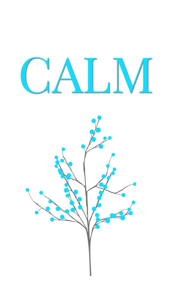 calm Minimalist Christmas phone wallpaper download