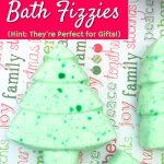 Christmas Tree Bath Fizzies