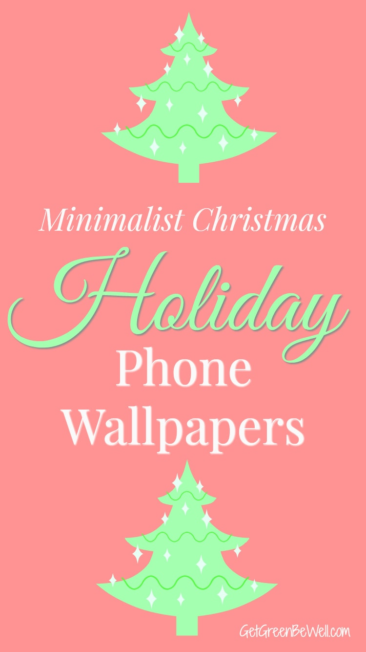 Minimalist Christmas Phone Wallpaper downloads