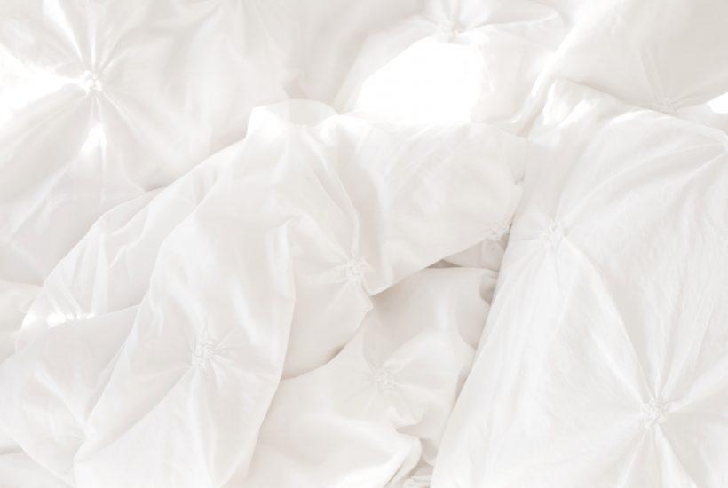 white comforter heavy blanket