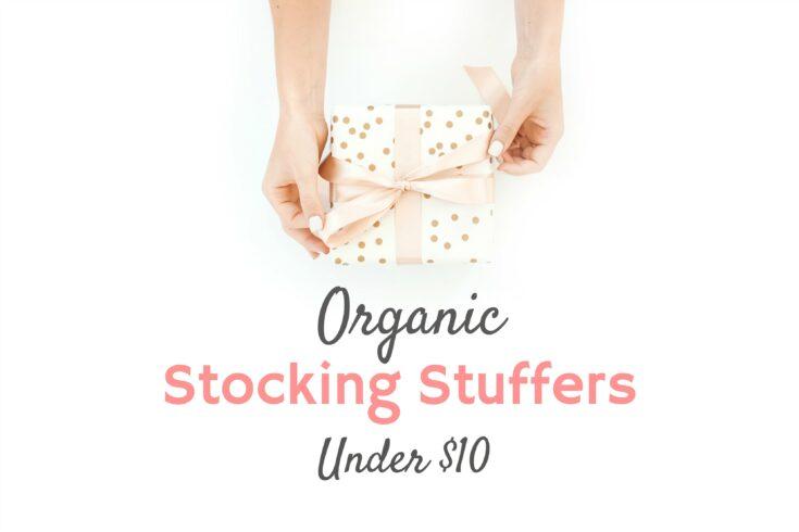 Organic Stocking Stuffers Under $10
