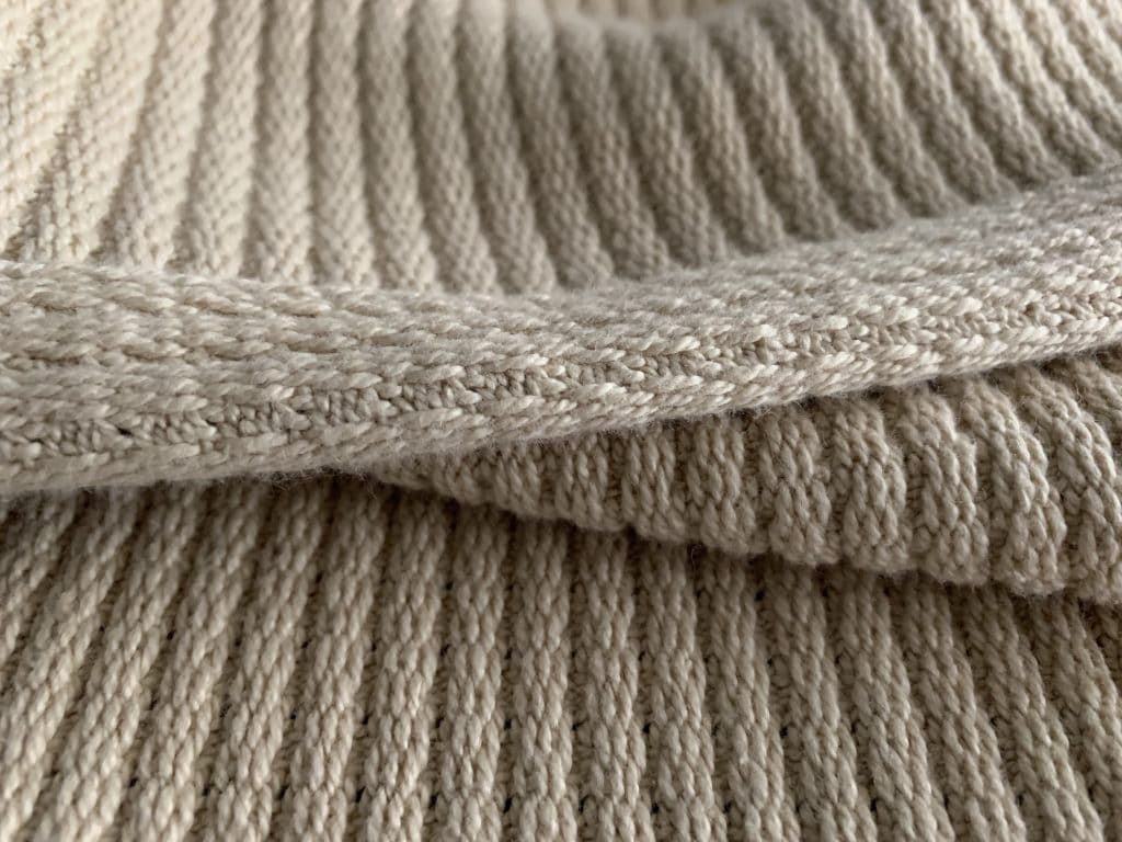 Grund America Organic Cotton Blanket Fibers driftwood