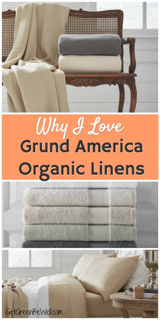 Grund America Organic Cotton Linens Bed Bath