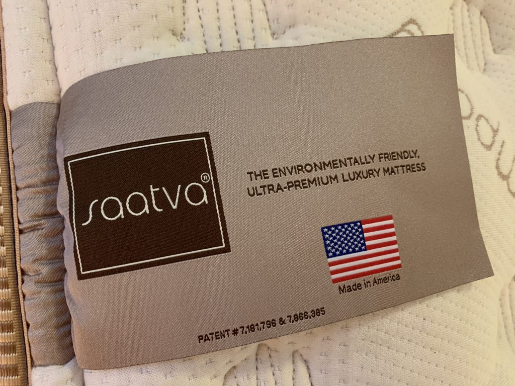 Saatva mattress tag eco friendly materials