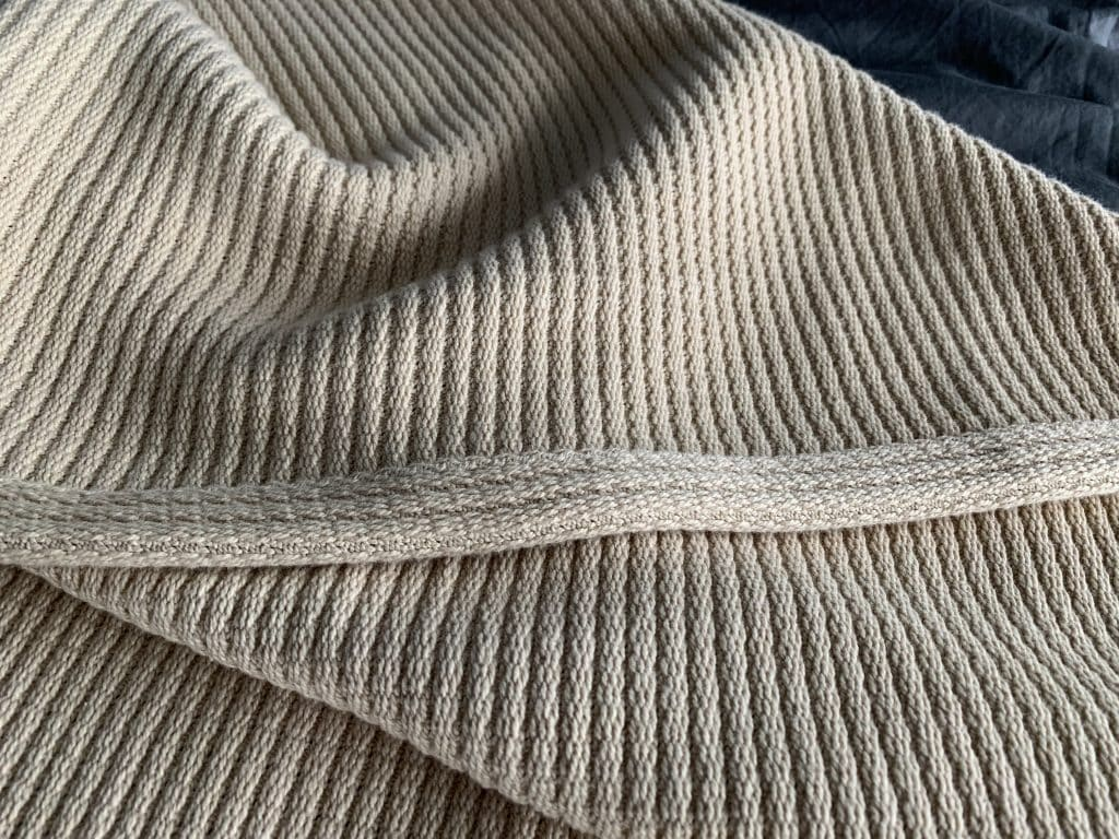 grund america organic cotton throw blanket