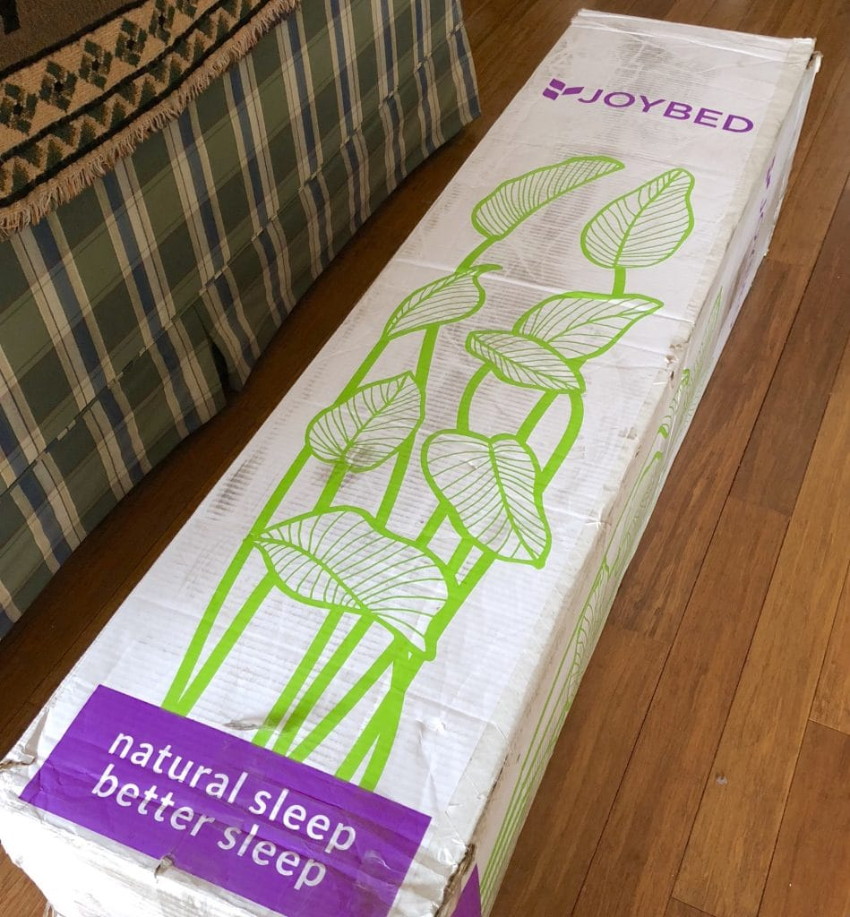 joy bed in a box all natural mattress