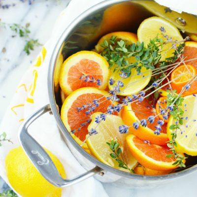 Stovetop Potpourri Recipe: Lemon Lavender Herb Simmer Pot