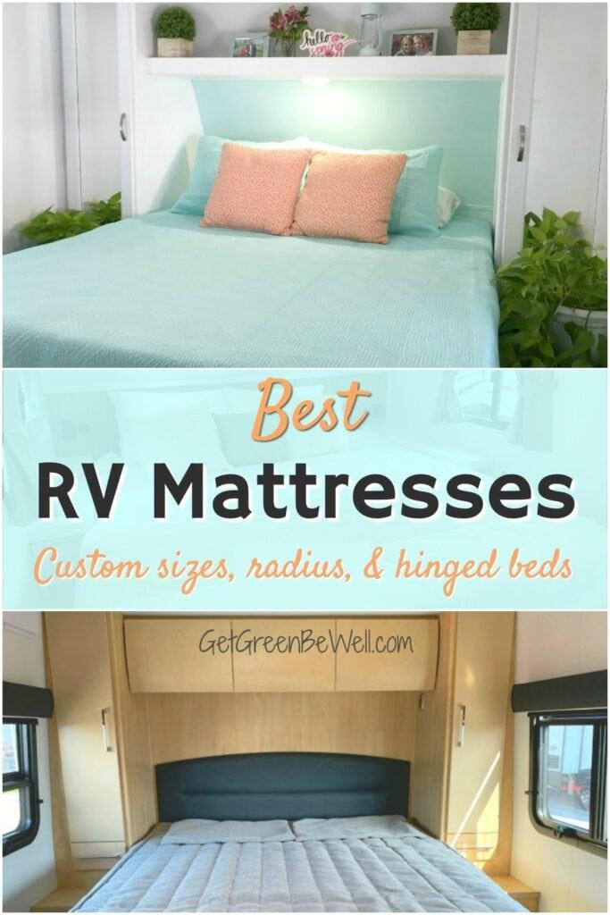 Best Organic Rv Mattress Non Toxic Natural Latex Get Green Be Well