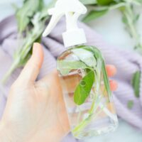 DIY Sage Spray for Cleansing Home