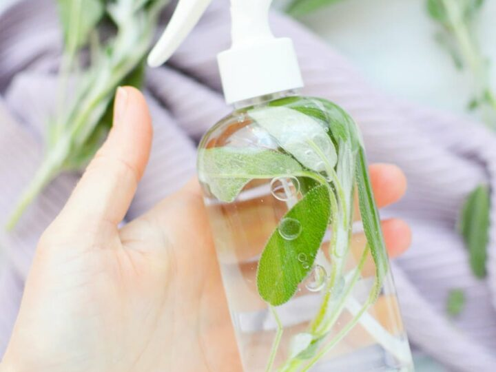 DIY Sage Spray for Cleansing Home - Get Green Be Well