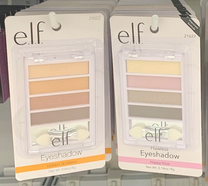 e.l.f. eyeshadow palettes