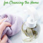 die sage spray in glass bottle green cleaner