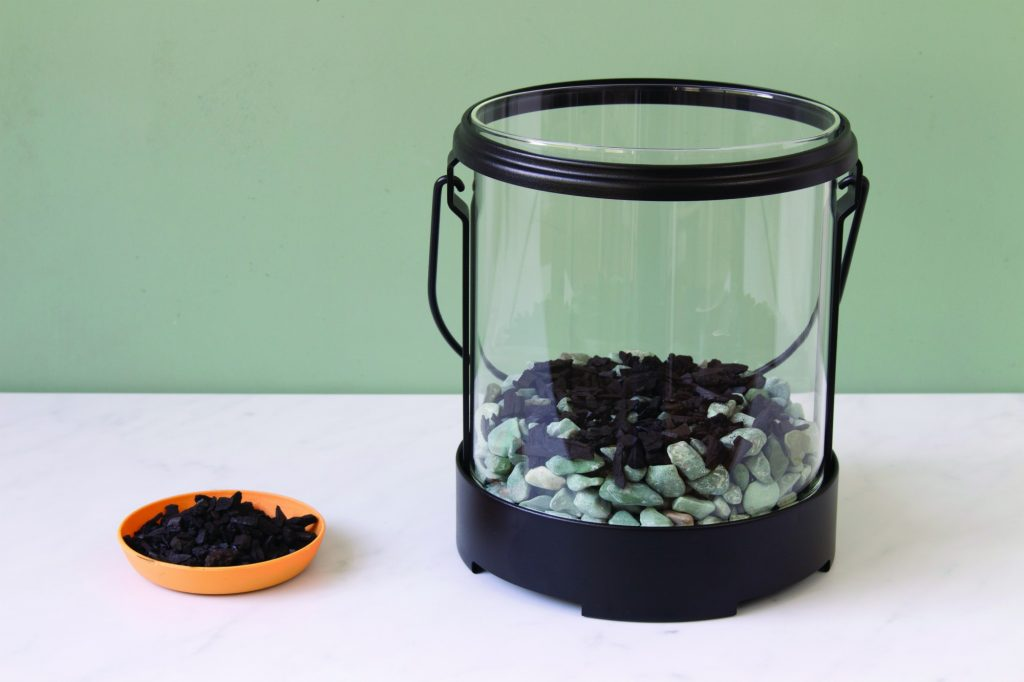 Glow in the Dark Lantern Terrarium Activated Charcoal