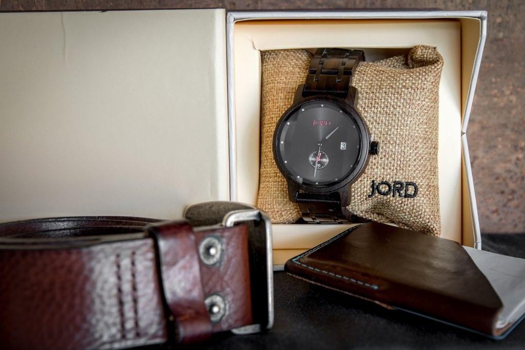 JORD Wood Watch Review Hyde Ebony Iron in Box