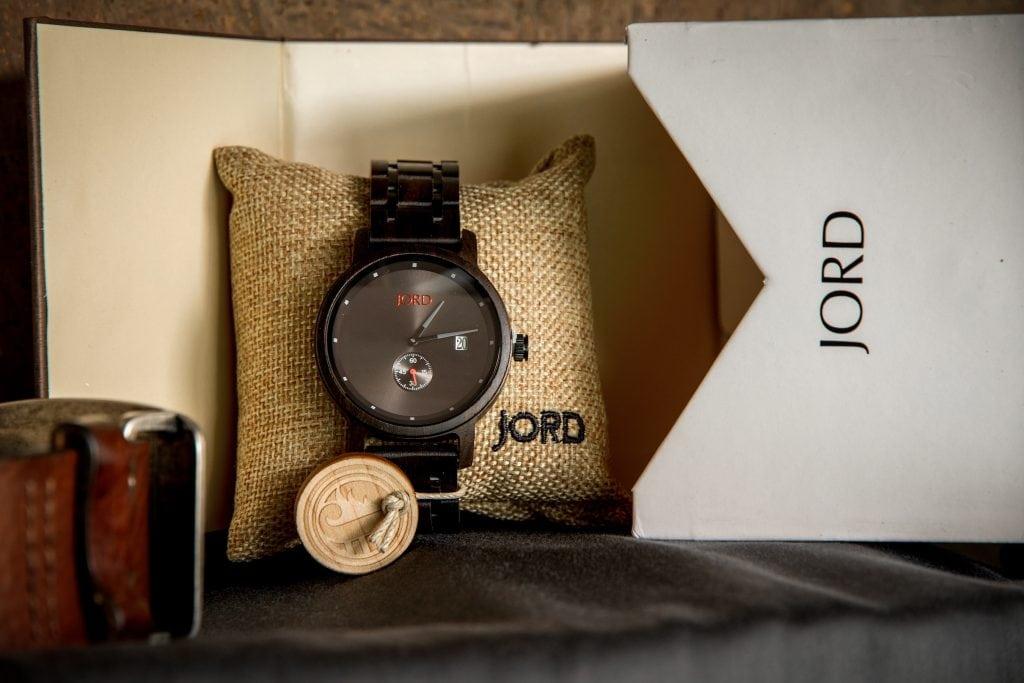 Jord Wood Watch Ebony Iron