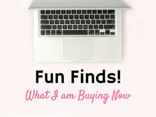laptop computer on pink background online shopping