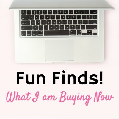 Fun Finds: What I Bought This Week