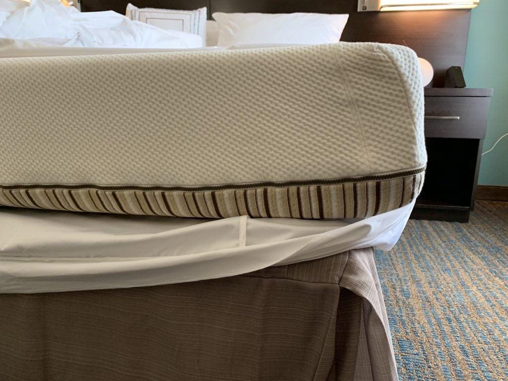 Essentia mattress natural memory foam bed