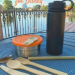 zero waste kit eating essentials bamboo utensils reusable water bottle