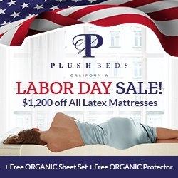 Plushbeds Labor Day Mattress Sale