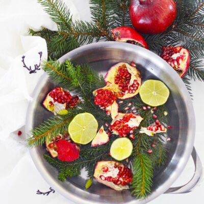 Christmas Stovetop Potpourri Recipe