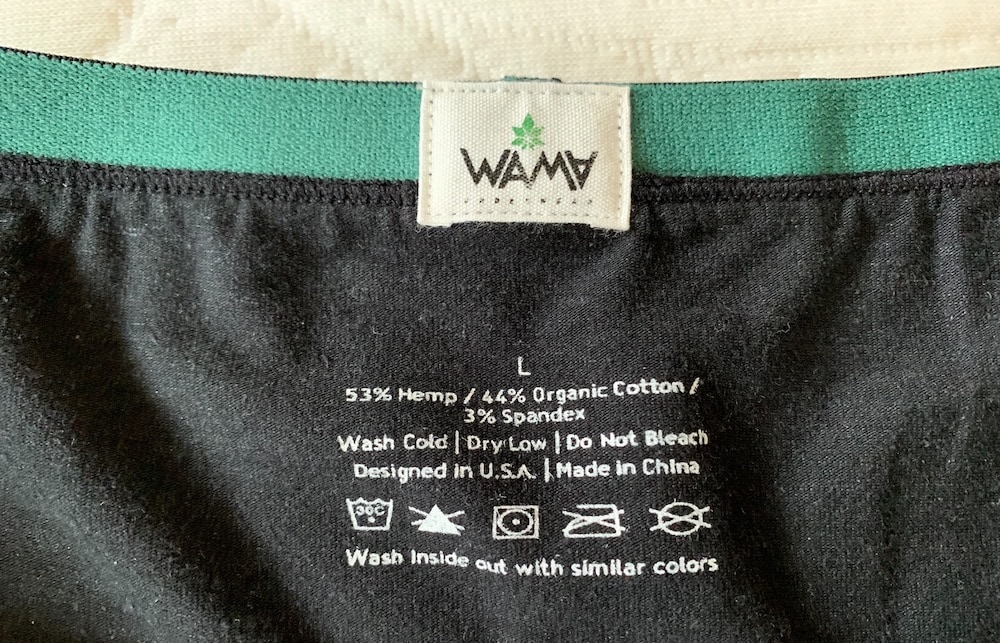 black hemp underwear mens