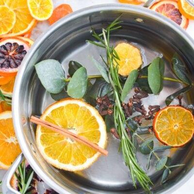 Wellness Foot Soak Recipe with doTERRA On Guard Ingredients