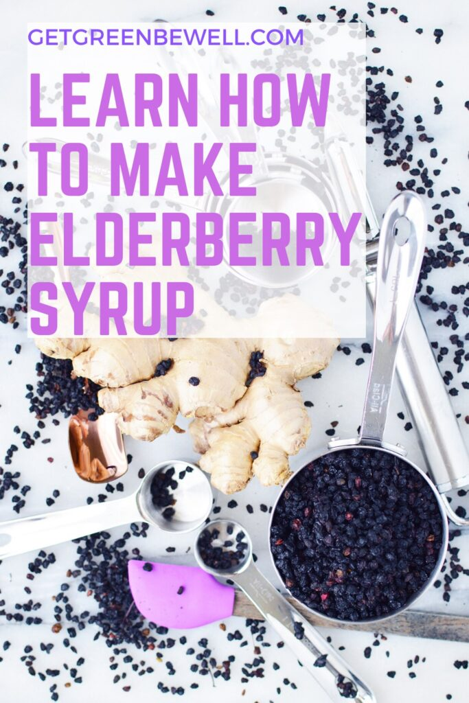 elderberry syrup ingredients