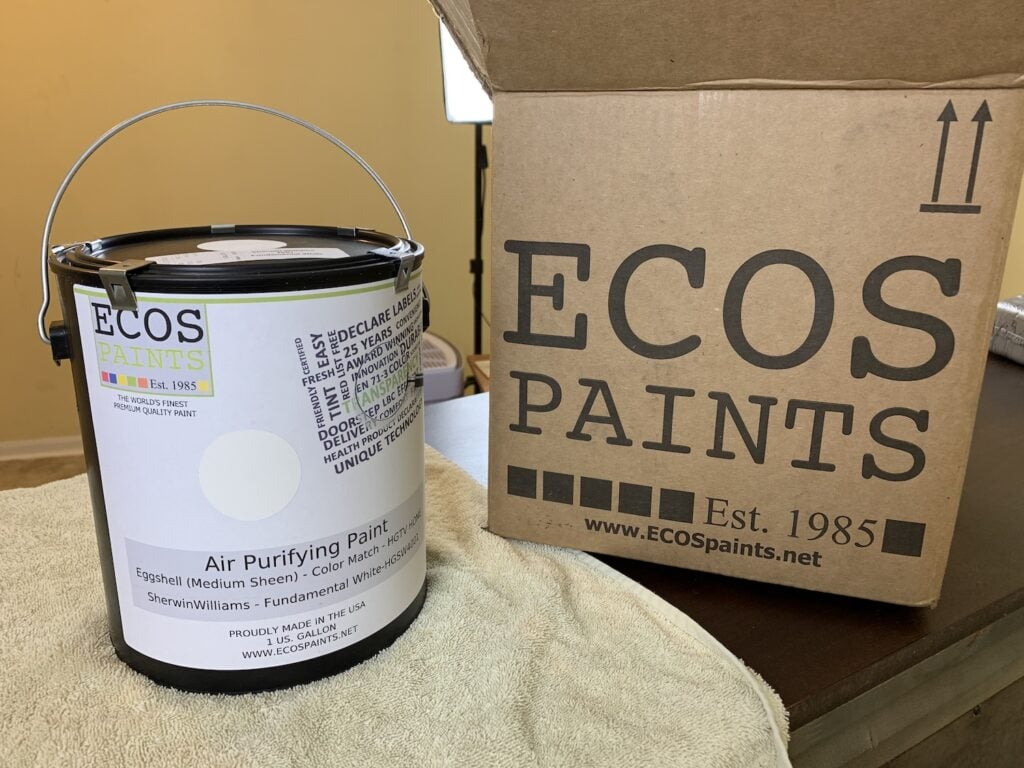 ECOS Paint can and box