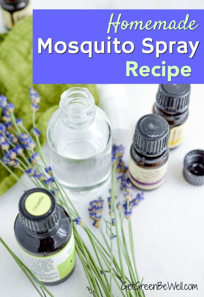 essential oils to repel bugs next to lavender