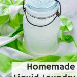 jar of liquid laundry detergent