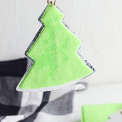 hanging pine tree scented air freshener
