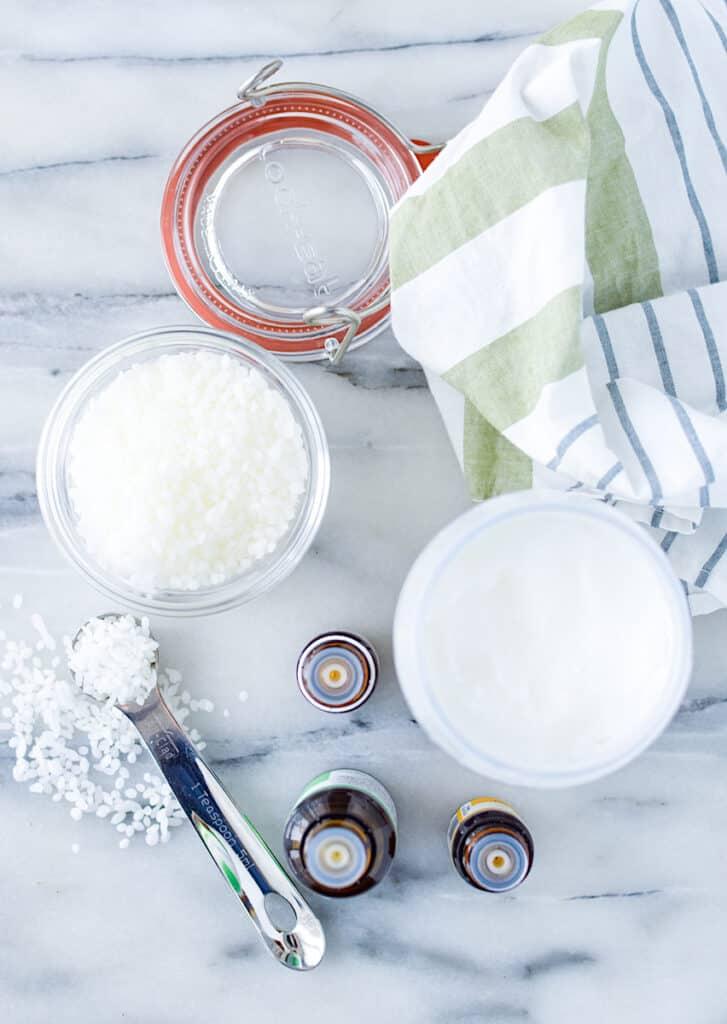 DIY Vapor Rub Supplies